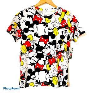 NWT DISNEY Mickey Mouse Graphic Tee Sizes S/XL
